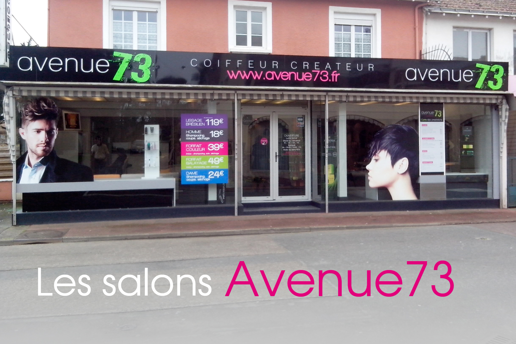 Franchise de salon de coiffure